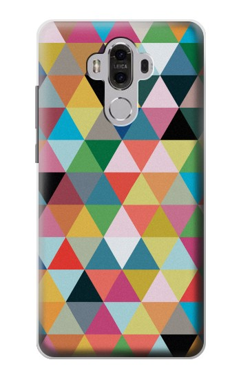 Printed Triangles Vibrant Colors Huawei Mate 8 Case