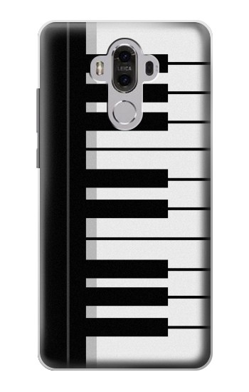 Printed Black and White Piano Keyboard Huawei Mate 8 Case