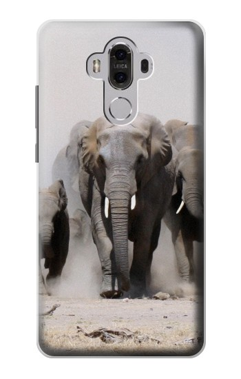 Printed African Elephant Huawei Mate 8 Case