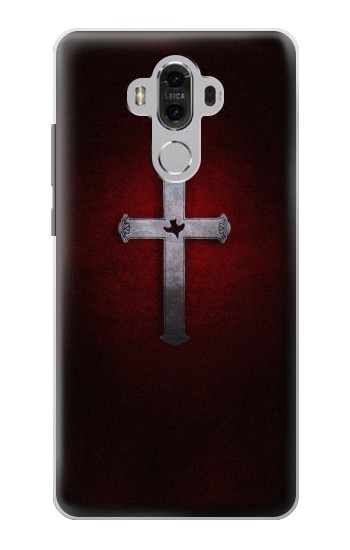Printed Christian Cross Huawei Mate 8 Case