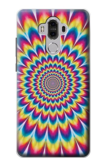 Printed Colorful Psychedelic Huawei Mate 8 Case