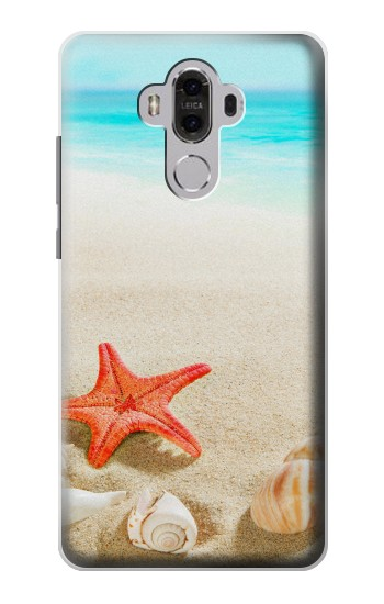 Printed Sea Shells Starfish Beach Huawei Mate 8 Case