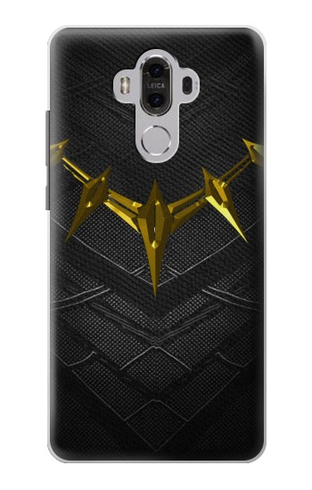 Printed Black Panther Inspired Costume Gold Necklace Huawei Mate 8 Case