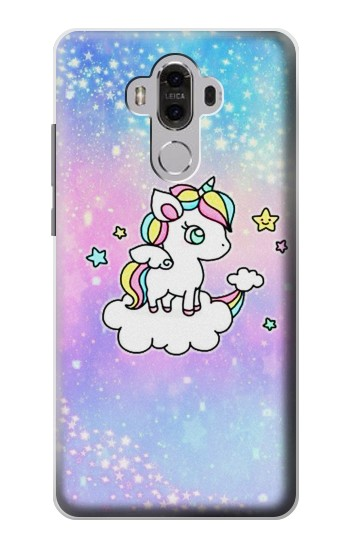 Printed Cute Unicorn Cartoon Huawei Mate 8 Case