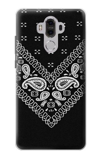 Printed Bandana Black Pattern Huawei Mate 8 Case