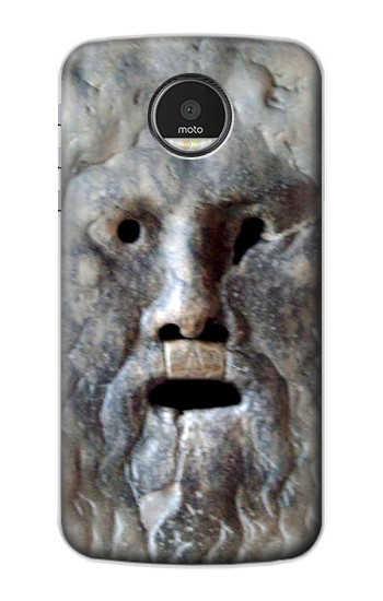 Printed Rome The Mouth of Truth Motorola Moto Z Case