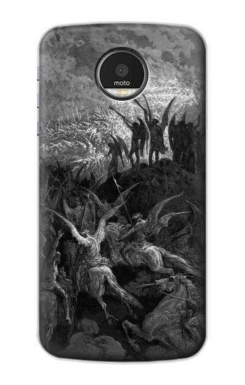 Printed Gustave Dore Paradise Lost Motorola Moto Z Case