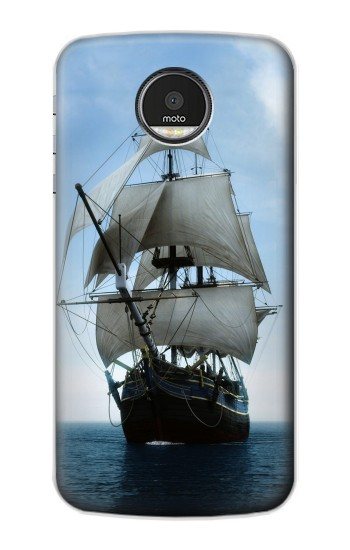 Printed Sailing Ship in an Ocean Motorola Moto Z Case