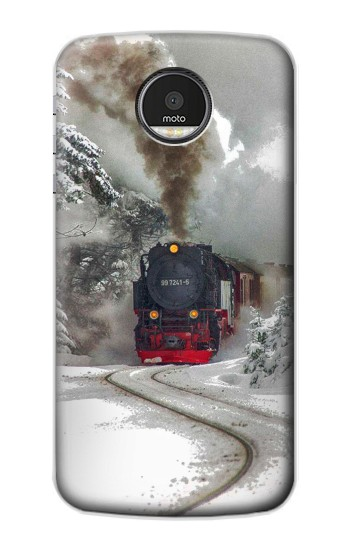 Printed Steam Train Motorola Moto Z Case