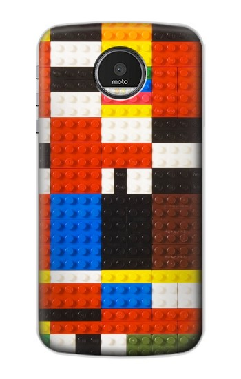 Printed Brick Toy Lego Graphic Printed Motorola Moto Z Case