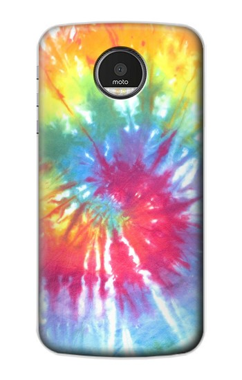 Printed Tie Dye Colorful Graphic Printed Motorola Moto Z Case