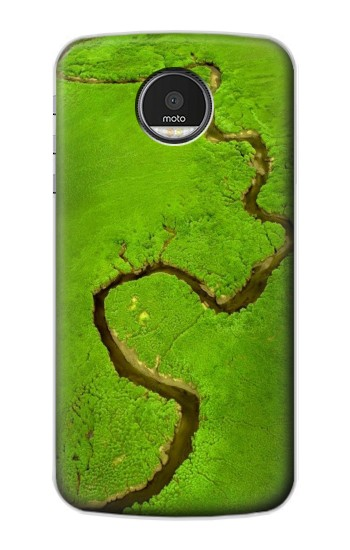 Printed Amazon River Motorola Moto Z Case