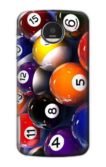 Printed Billiard Pool Ball Motorola Moto Z Case