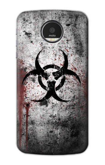 Printed Biohazards Biological Hazard Motorola Moto Z Case