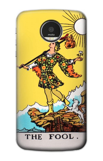 Printed Tarot Card The Fool Motorola Moto Z Case