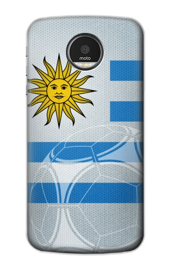 Printed Uruguay Football Flag Motorola Moto Z Case