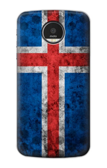 Printed Iceland Football Flag Motorola Moto Z Case