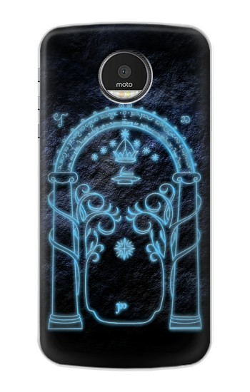 Printed Lord of The Rings Mines of Moria Gate Motorola Moto Z Case