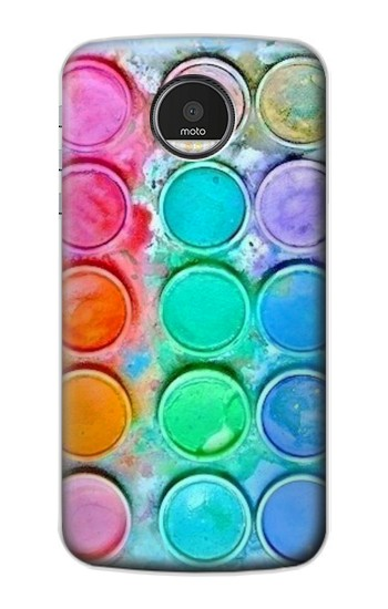 Printed Watercolor Mixing Motorola Moto Z Case