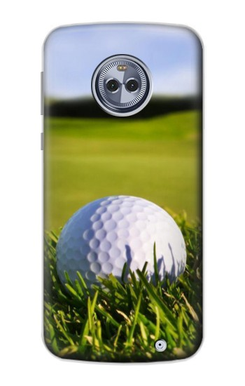 Printed Golf Motorola Moto X4 Case