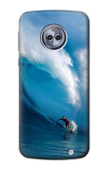 Printed Hawaii Surf Motorola Moto X4 Case