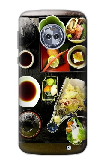 Printed Japanese Food Motorola Moto X4 Case
