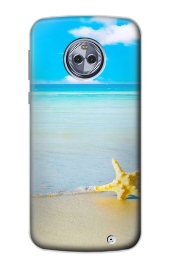 Printed Relax at the Beach Motorola Moto X4 Case