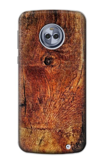 Printed Wood Skin Graphic Motorola Moto X4 Case