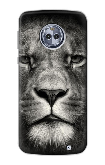 Printed Lion Face Motorola Moto X4 Case