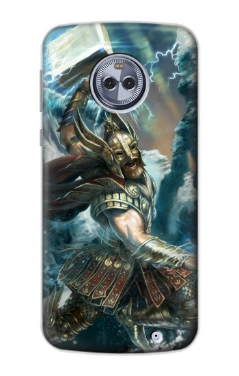 Printed Thor Viking God Motorola Moto X4 Case