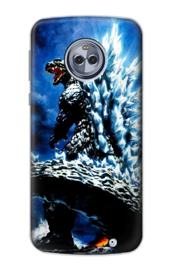 Printed Godzilla Giant Monster Motorola Moto X4 Case