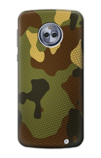 Printed Camo Camouflage Graphic Printed Motorola Moto X4 Case