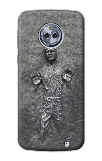 Printed Han Solo in Carbonite Motorola Moto X4 Case