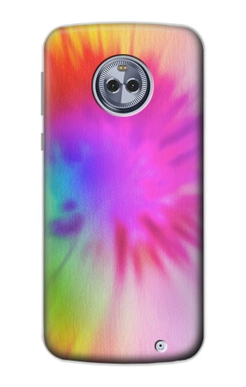 Printed Tie Dye Color Motorola Moto X4 Case