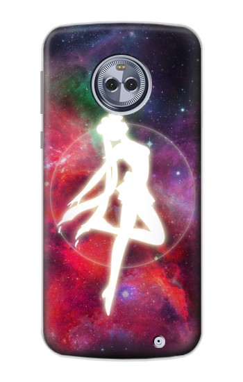 Printed Sailor Moon Nebula Transform Motorola Moto X4 Case