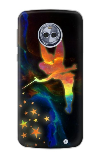 Printed Tinkerbell Magic Sparkle Motorola Moto X4 Case