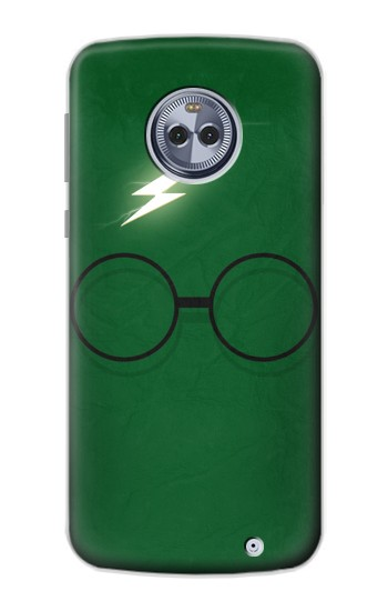 Printed Harry Potter Minimalist Motorola Moto X4 Case