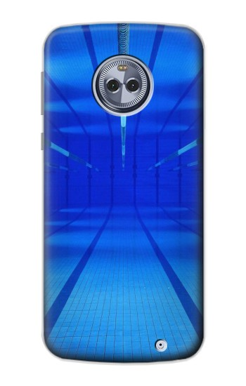 Printed Swimming Pool Under Water Motorola Moto X4 Case
