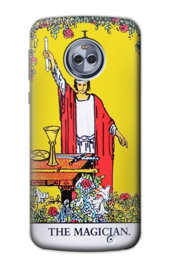 Printed Tarot Card The Magician Motorola Moto X4 Case