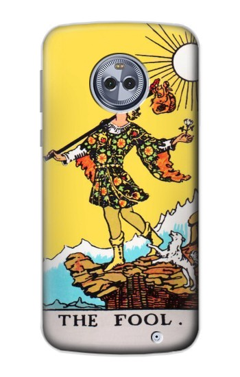 Printed Tarot Card The Fool Motorola Moto X4 Case