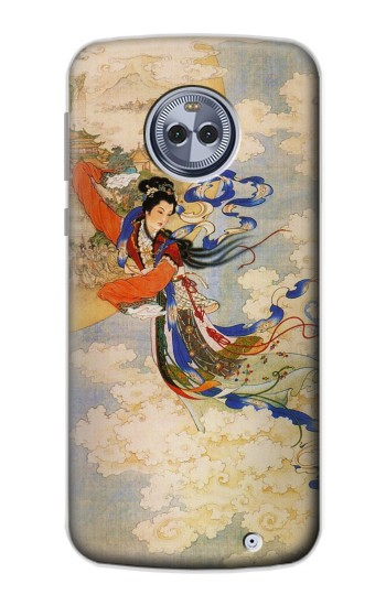 Printed Chang-E Moon Goddess Motorola Moto X4 Case