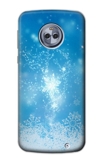 Printed Snow Spell Magic Motorola Moto X4 Case