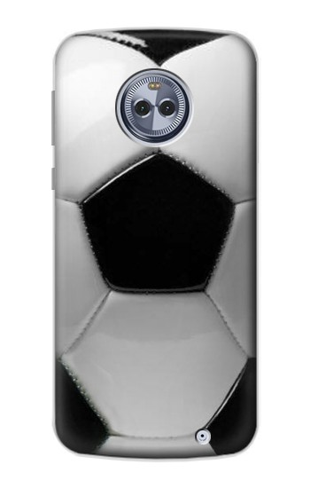Printed Soccer Football Ball Motorola Moto X4 Case