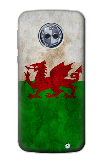 Printed Wales Red Dragon Flag Motorola Moto X4 Case