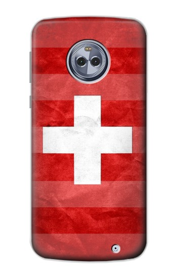 Printed Switzerland Football Flag Motorola Moto X4 Case