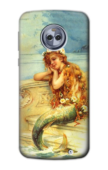 Printed Little Mermaid Painting Motorola Moto X4 Case
