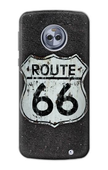 Printed Route 66 Sign Motorola Moto X4 Case