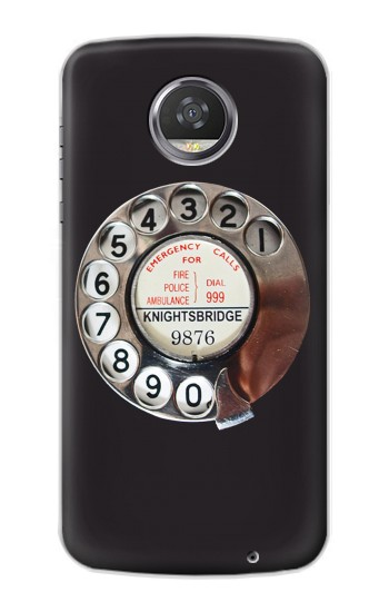 Printed Retro Rotary Phone Dial On HTC Desire 310 Case