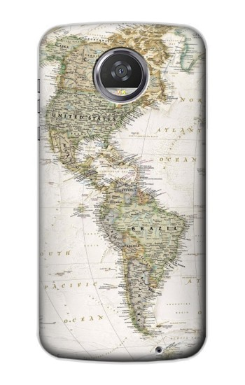 Printed World Map HTC Desire 310 Case