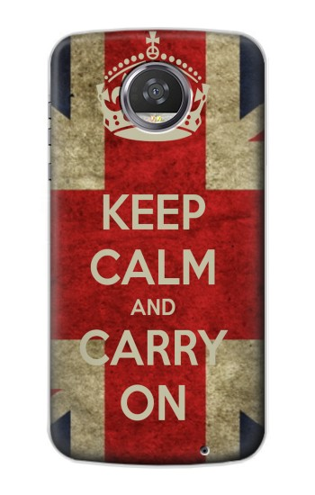 Printed Keep Calm and Carry On HTC Desire 310 Case